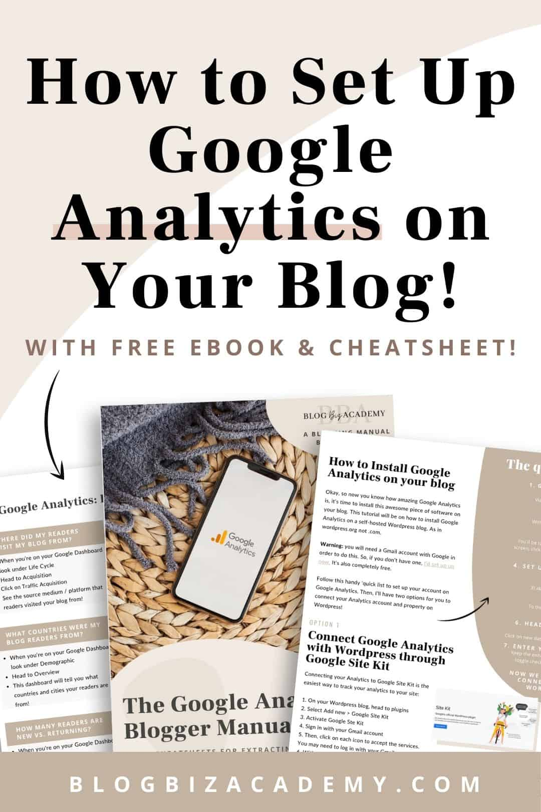 How to set up google analytics on your blog in 2021